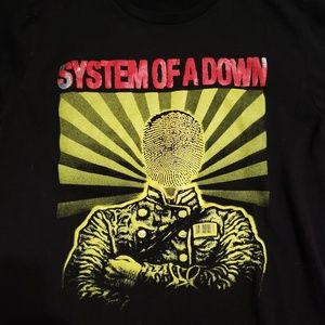 Vintage Shirts - Vintage System Of A Down Rock Band Tee